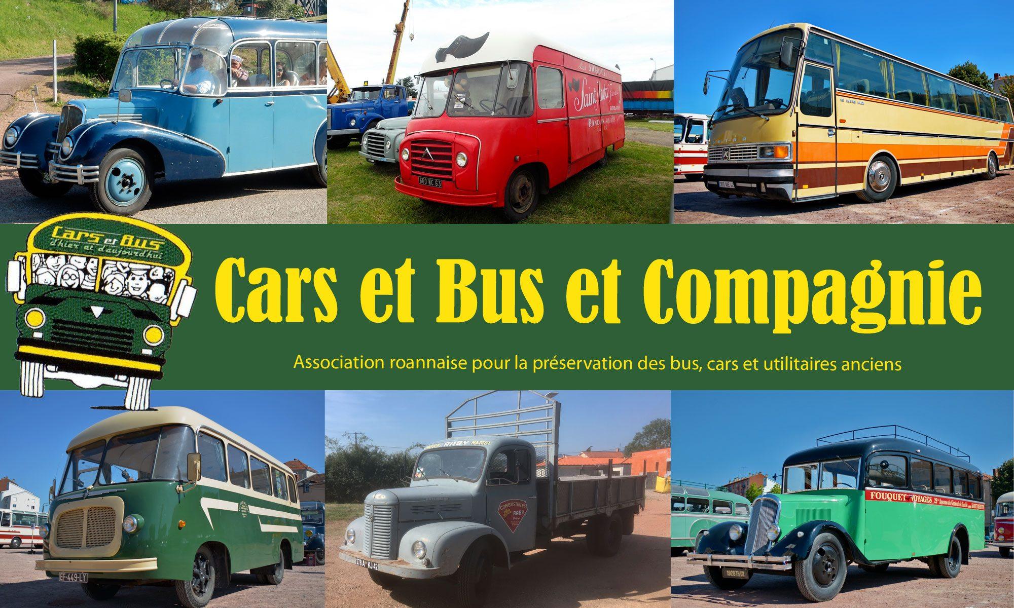 cars et bus et compagnie